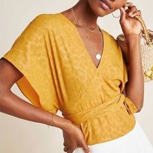 NWOT Anthropologie current air blouse
